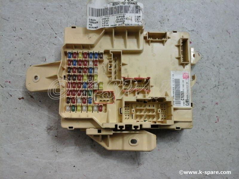 [MOBIS] Hyundai LF Sonata - JUNCTION BOX ASSEMBLY - INSTRUMENT PANEL - USED  A-Grade [91950-C1050]
