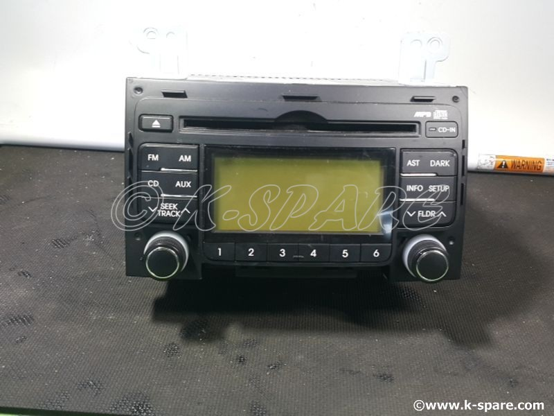 [MOBIS] Hyundai i30 - USED MP3 USB AUDIO DECK ASSEMBLY - USED B-Grade  [96160-2L000]