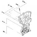 Sportage QL - Cover-Timing Chain & Oil Pump [213502E350]
