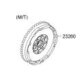 Santa Fe - Flywheel-Dual Mass [232002F110]