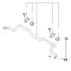 Santa Fe - Bar Assy-Front Stabilizer [548102W000]