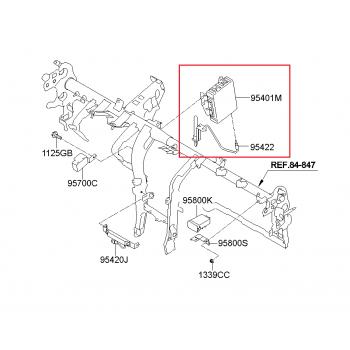 Kia Sportage R - Unit Assy-BCM [95400-3W011] by K-Spare.com