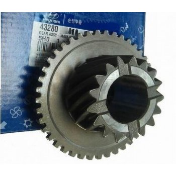 Hyundai - Gear Assy-Main Shaft Overdrive [43280-5H010] by K-Spare.com