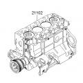 Hyundai / Kia - Engine Assy-Short  [2J0224AU00A]
