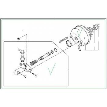 Hyundai County - Clutch Master-Cylinder Assy [41600-5H101] by K-Spare.com
