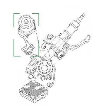 Hyundai / Kia - Motor Assy-Steering Column [563303X500] by K-Spare.com