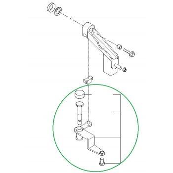 Kia Bongo3 - Lever Assy-Select [43870-4D700] by K-Spare.com